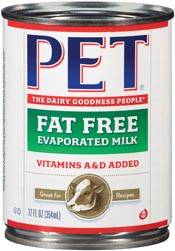 >Fat Free Evaporated Milk - Vitamins A & D Added